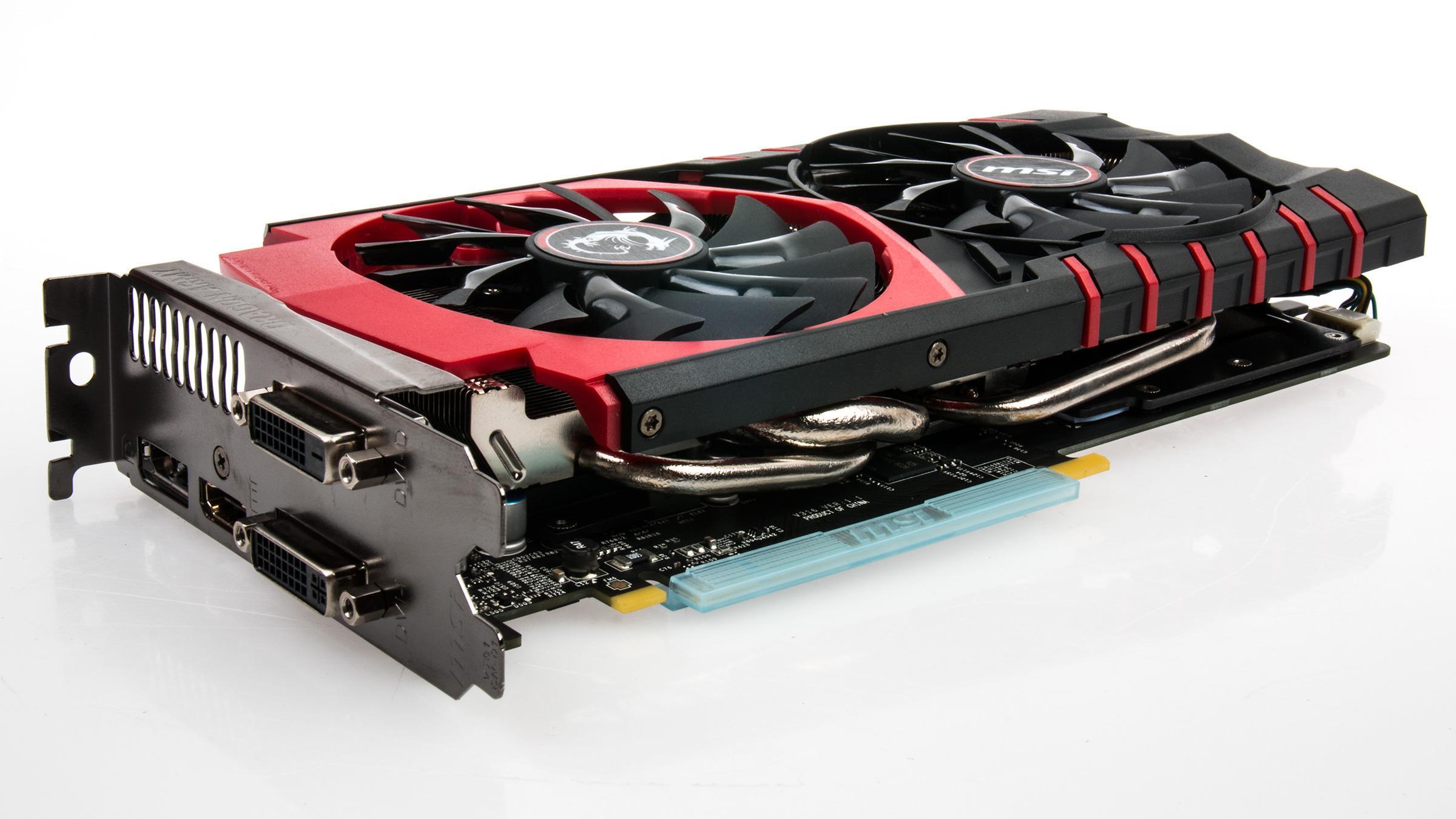 MSI GeForce GTX 970 Gaming 4G Twin Frozr V er langt ifra det største skjermkortet vi har sett.Foto: Varg Aamo, Tek.no
