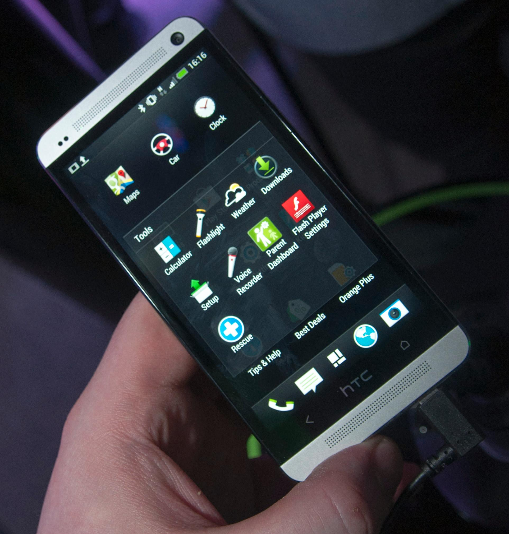Foldere slik de ser ut i Sense 5 på HTC One.Foto: Finn Jarle Kvalheim, Amobil.no