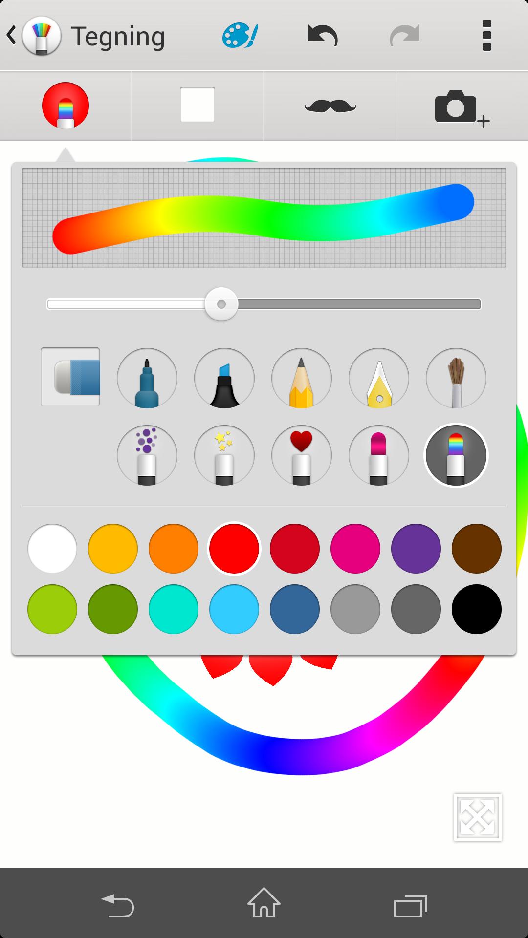 All verdens tegneprogrammer til tross -enten er du kunstner, eller så er du det ikke. Vi tilhører siste kategori, men kan likevel finne glede i å rable med denne appen.