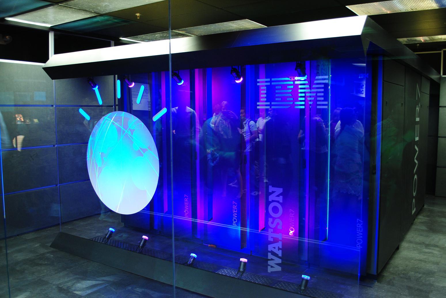 IBMs Watson-maskin. Foto: Clockready/Wikipedia