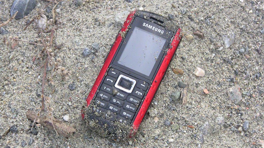 Test: Samsung B2100 - vanntett tøffing