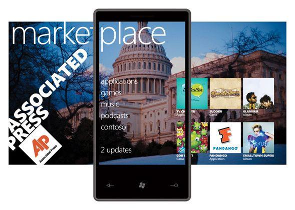 Windows Phone Marketplace blir i utgangspunktet privatbrukeres eneste kilde til applikasjoner.