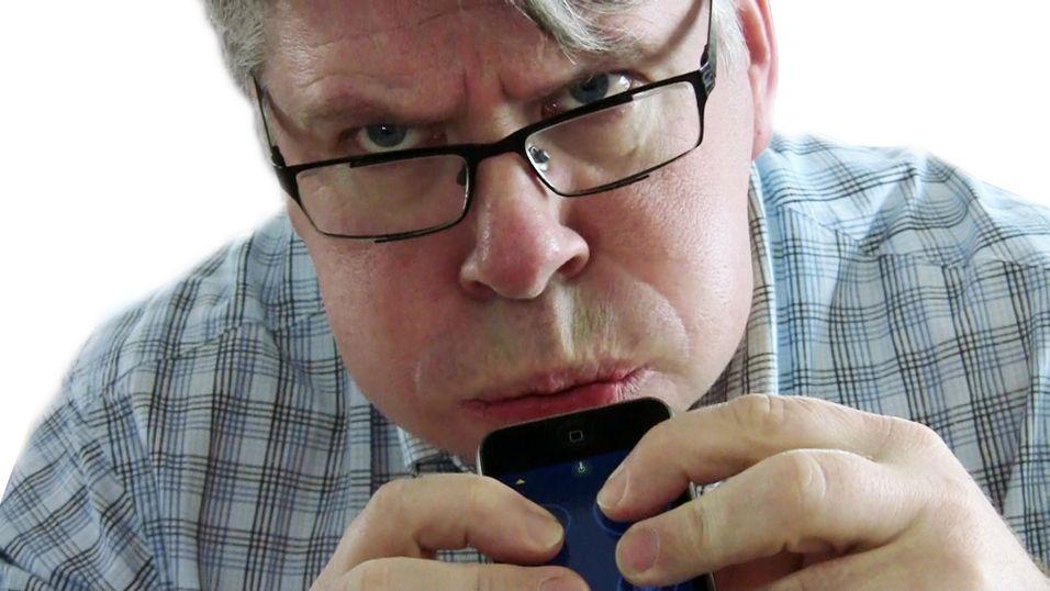 Spiller du Ocarina på iPone-en din, kan du være ganske sikker på at fuktindikatoren slår ut.Foto: Espen Irwing Swang