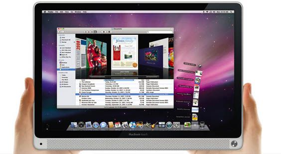 En mulig nyhet på Macworld Expo?  Bildet er photoshoppet for Gizmodo