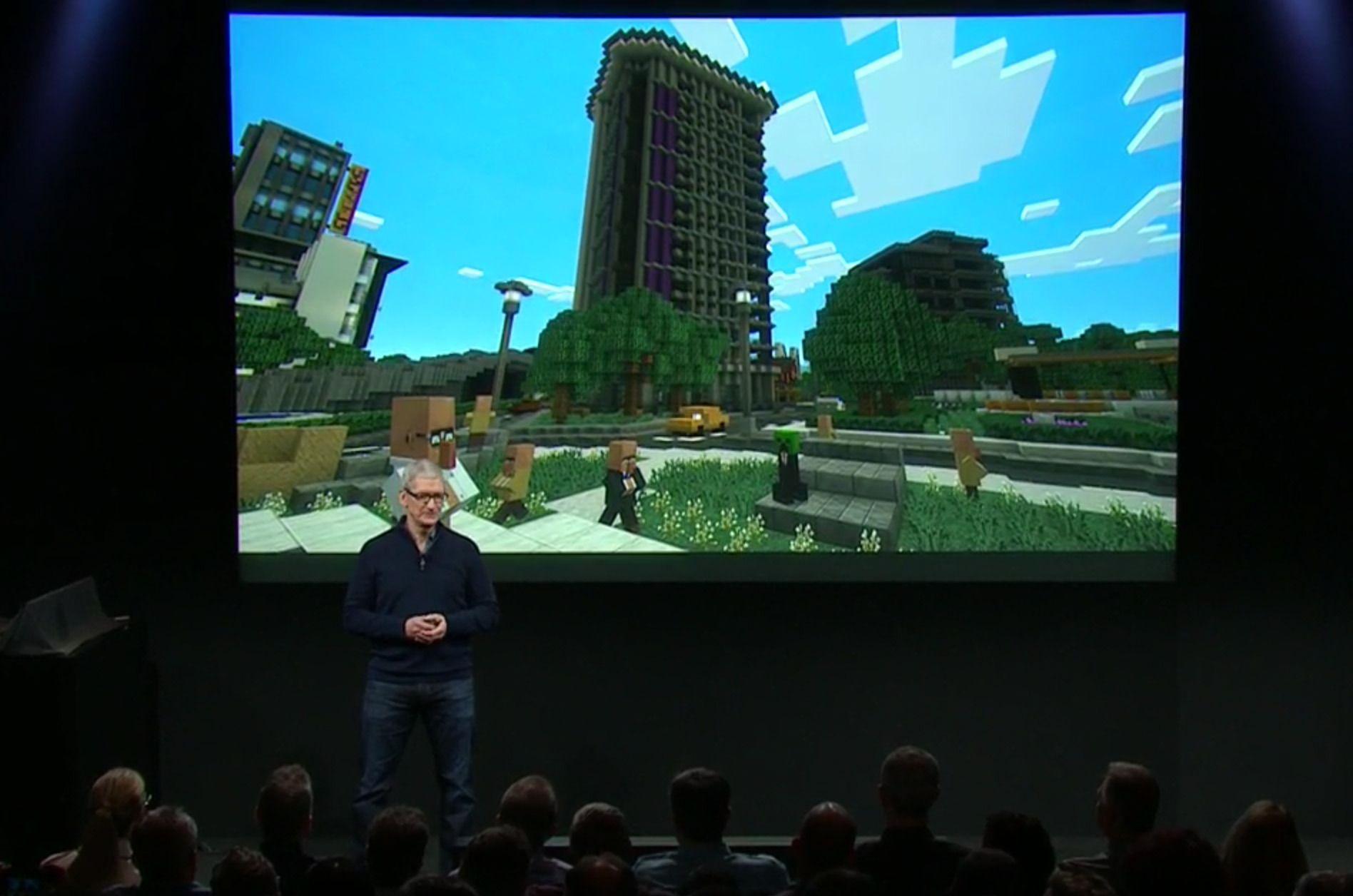 Minecraft kommer for Apple TV i løpet av året.
