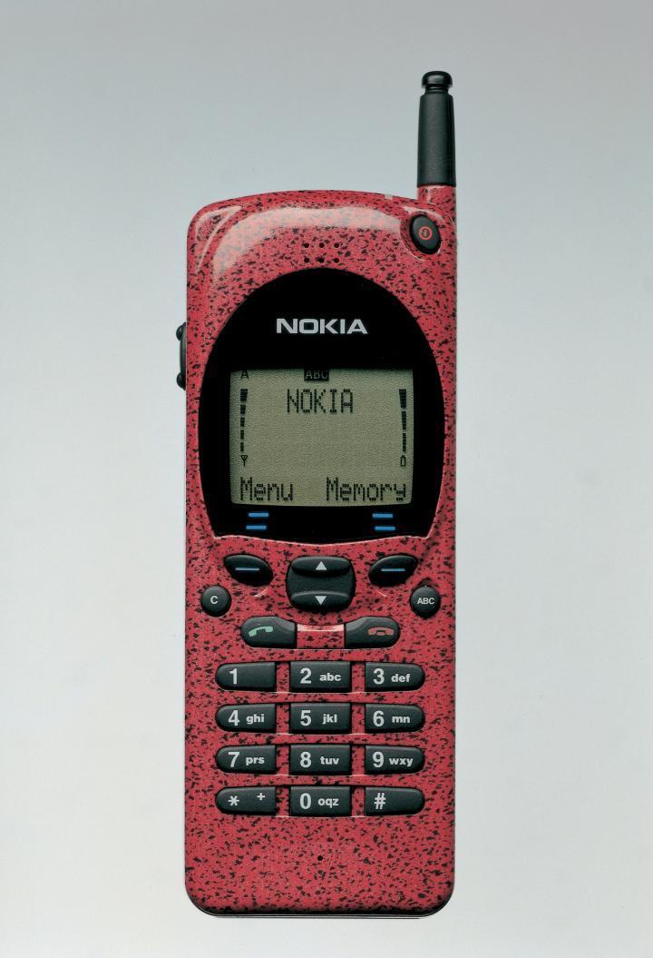 En av de første virkelige klassikerne til Nokia var Nokia 2110, som kom i 1995.