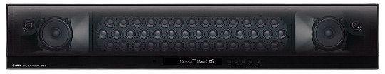 Yamaha YSP-5100 har til sammen 44 høyttalerelementer  (klikk for større bilde)