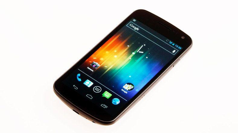 Samsung Galaxy Nexus er en av mange telefoner som støtter NFC i 2012. Likevel vil ikke teknologien ta av som betalingsløsning.