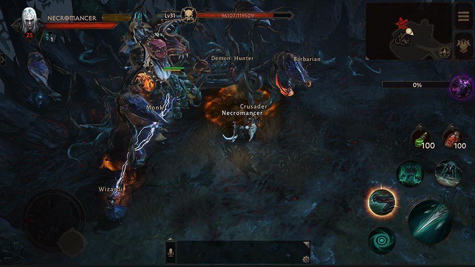 Diablo Immortal skal spilles med mobilen
