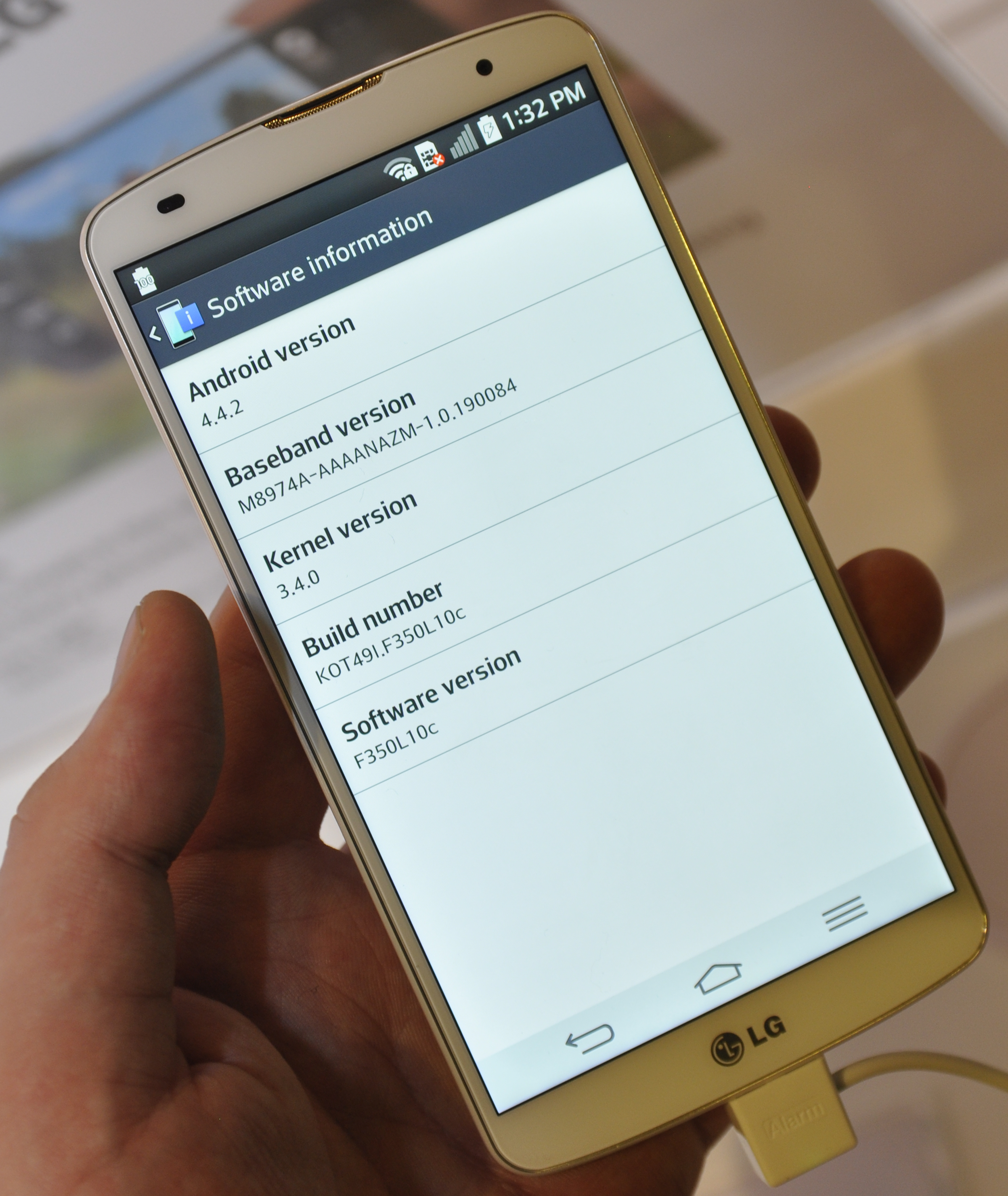 LG G Pro 3 vil få enda større skjerm enn den her avbildede forgjengeren, og langt kraftigere innmat. Foto: Finn Jarle Kvalheim, Amobil.no
