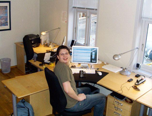 Amobil fikk sine første kontorer i 2006.Foto: Øystein W. Høie