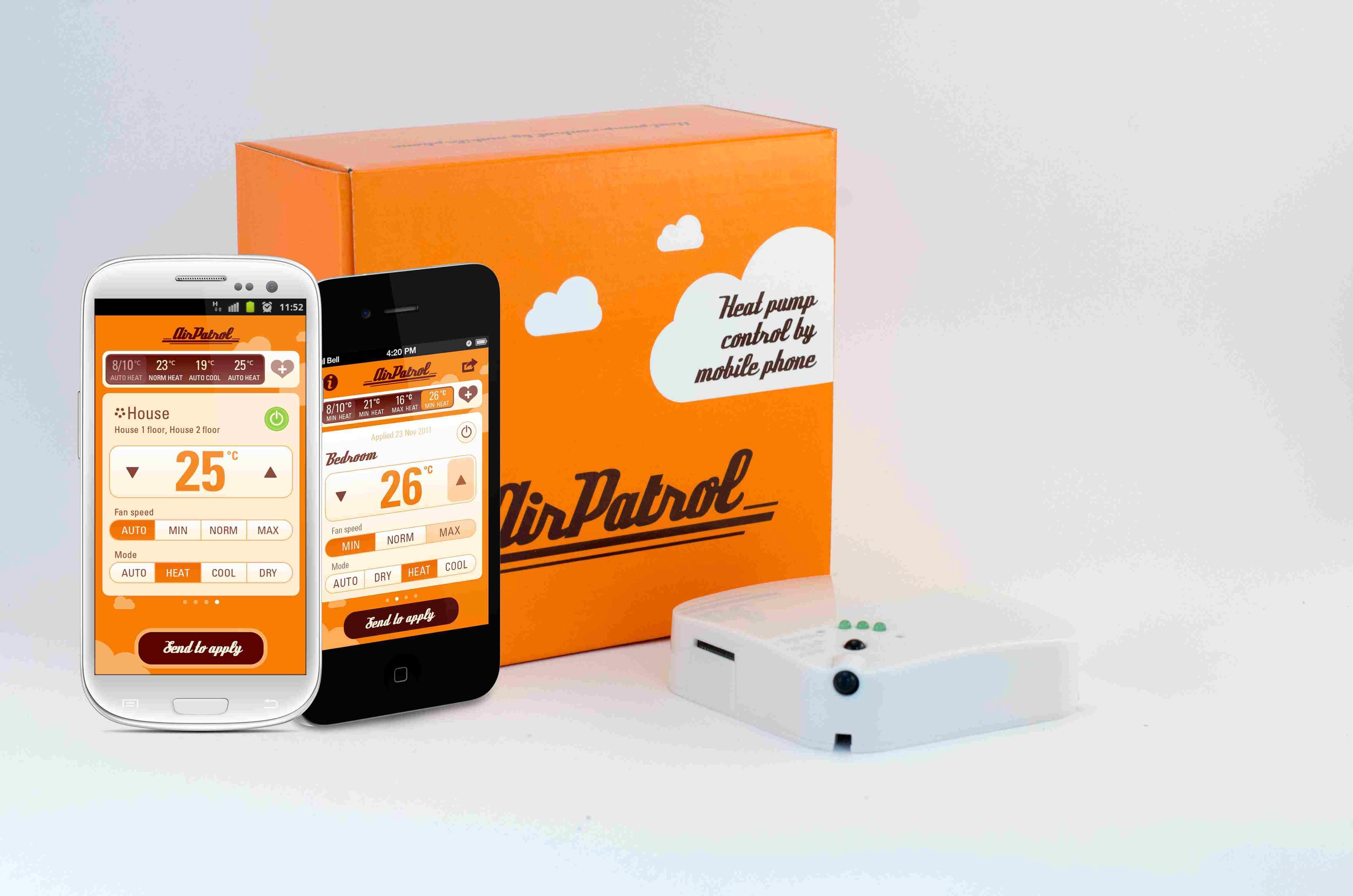 AirPatrol kan være et alternativ om du har en eldre varmepumpe. Foto: AirPatrol