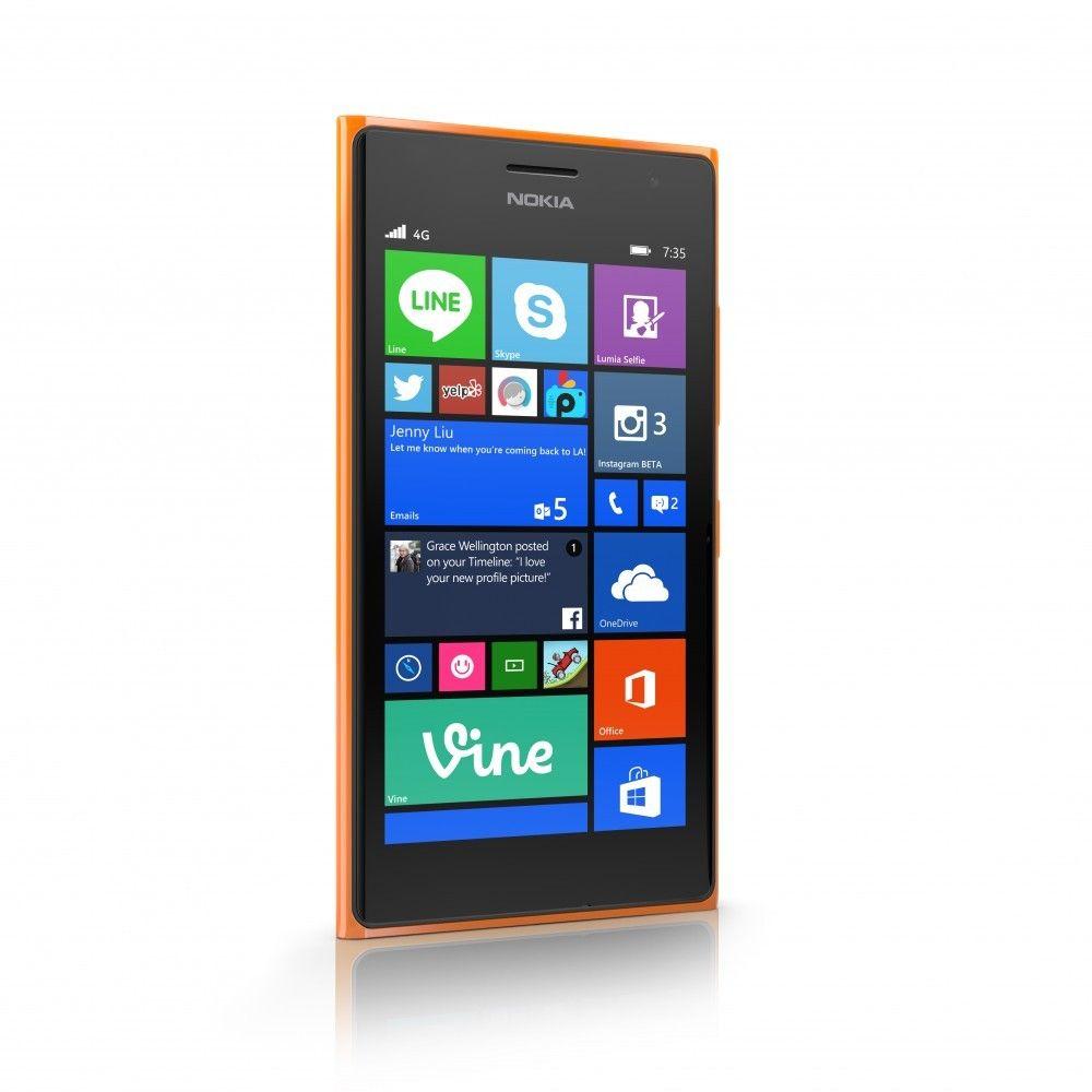 Lumia 735 kalles også en «selfiemobil». Prisen er 2295 kroner. I første omgang er det bare Lefdal og Elkjøp som selger den.