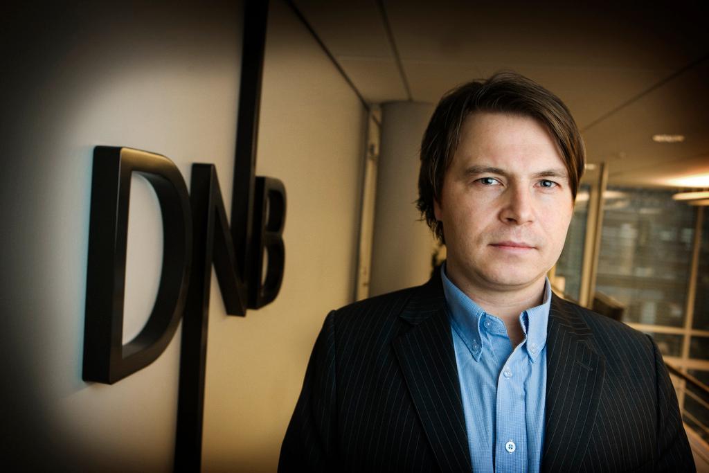 Vidar Korsberg Dalsbø, kommunikasjonsrådgiver hos DNB. Bilde: DNB