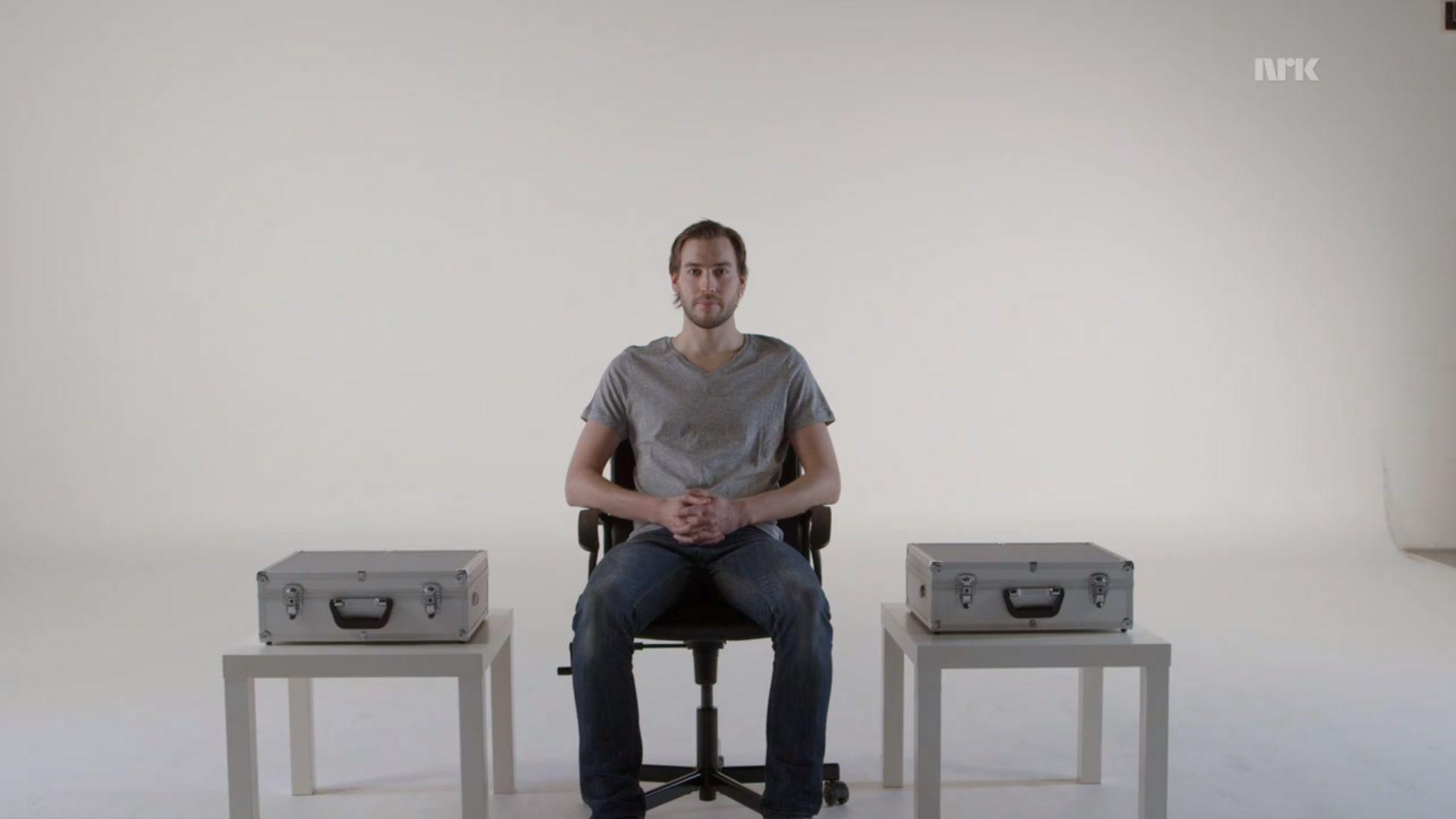 Programserien Folkeopplysningen ville teste om el-overfølsomme faktisk kan føle om det er elektromagnetisk stråling i et rom. Programledelsen forsøkte å legge alt til rette for et forsøk, men etter masse om og men trakk forsøkspersonene seg.