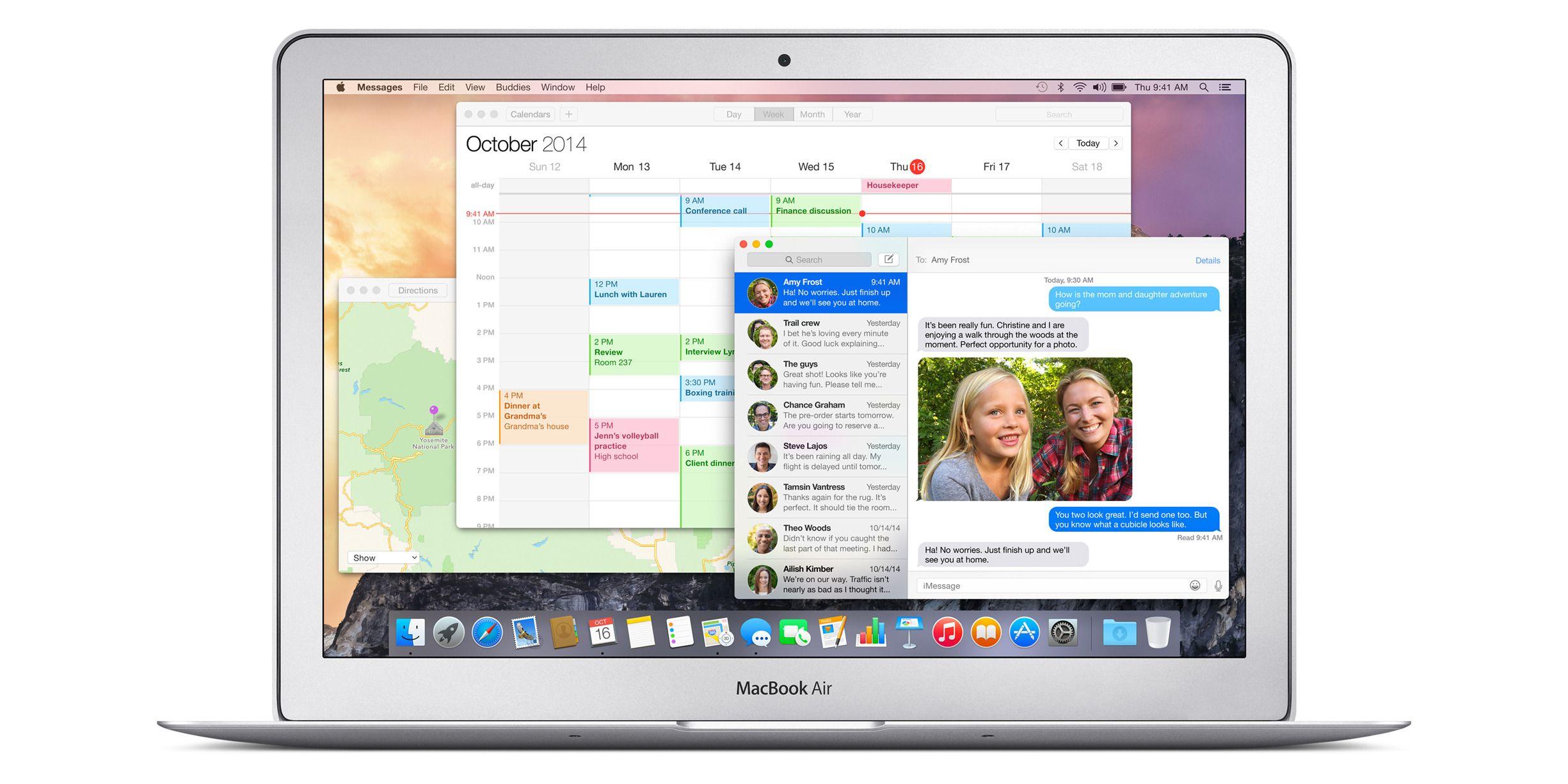 OS X Yosemite ble lansert.Foto: Apple