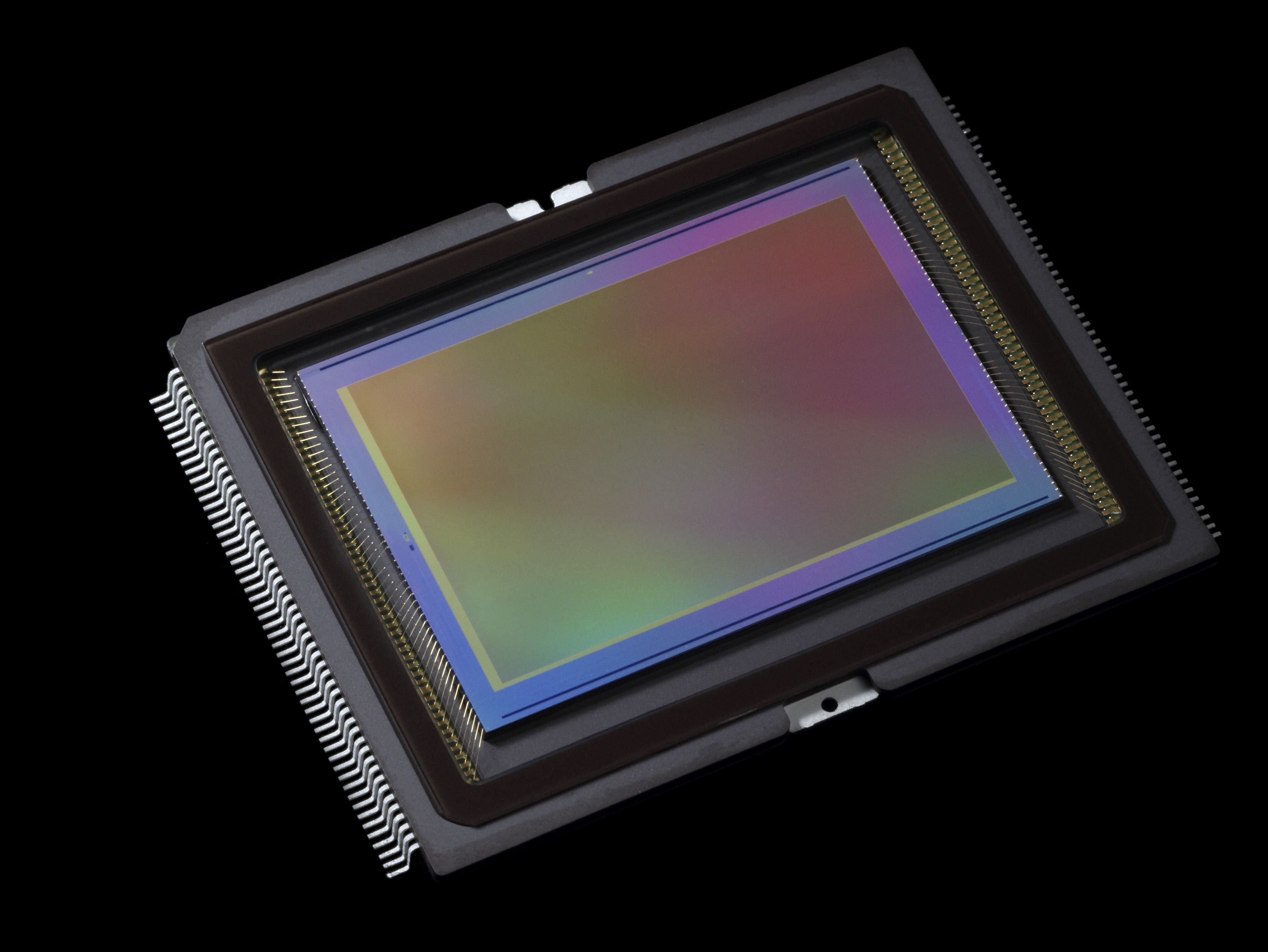 Canons nye 50-megapiksels bildebrikke. Foto: Canon