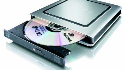 Kompakt DVD-brenner fra Philips