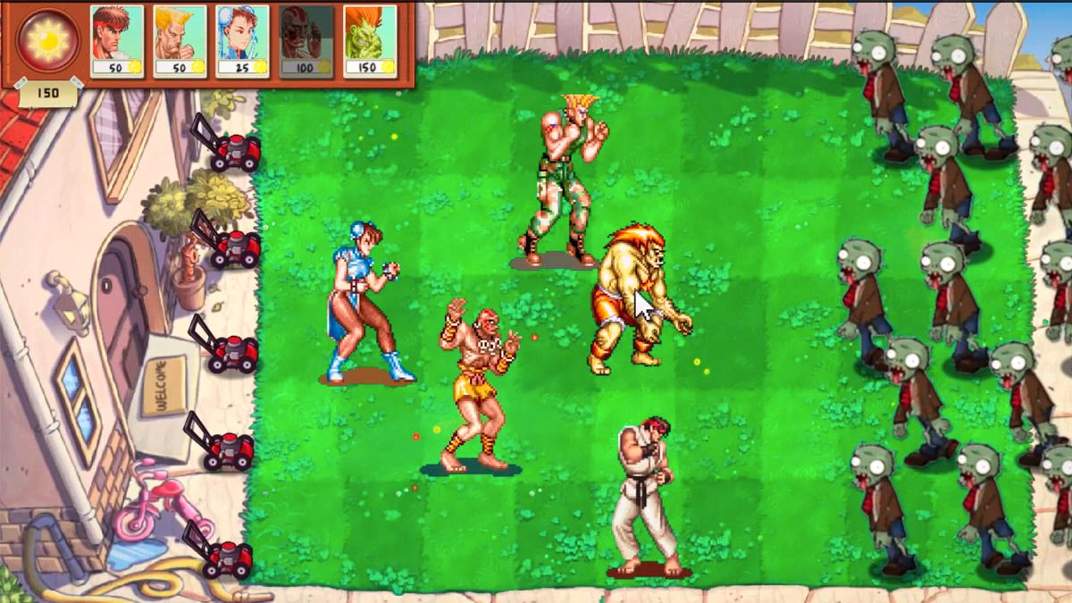 Glem planter – Dette er Street Fighter vs Zombies