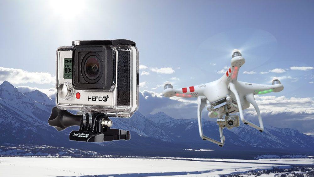 Snart skal GoPro lage sine egne kameradroner