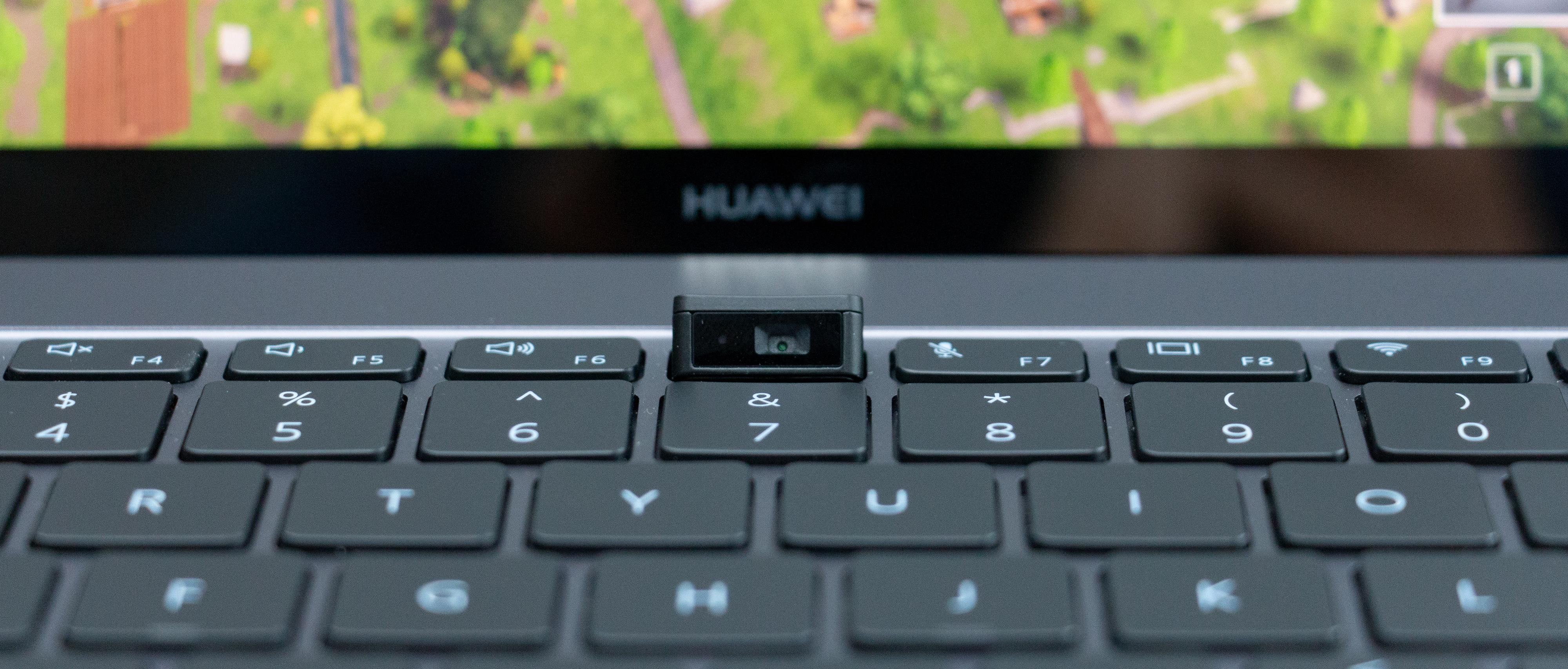 Et trykk på kamera-tasten og dette spretter opp av tastaturet.
