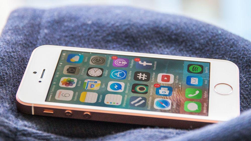 iPhone SE fra 2016.