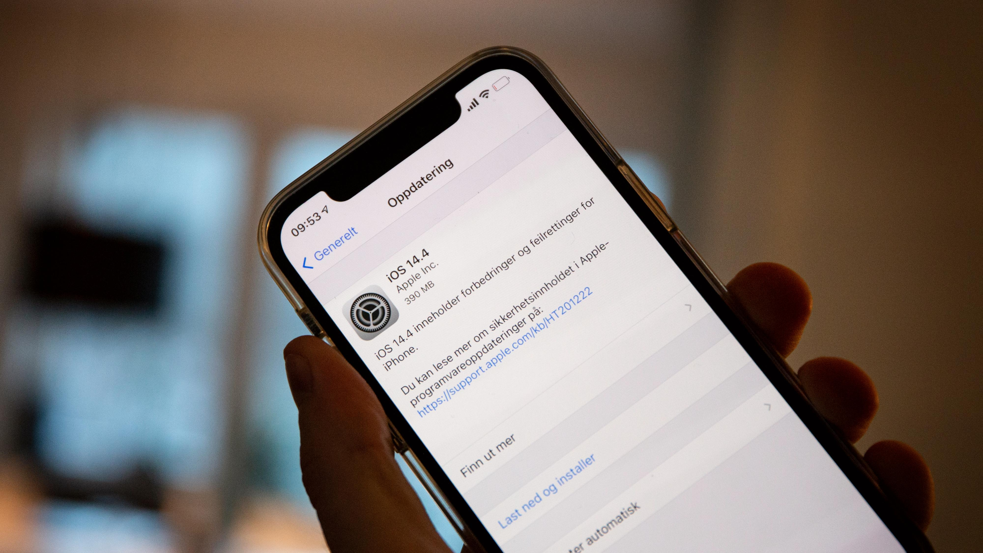 Apple lukker sikkerhetshull som ble «aktivt utnyttet»