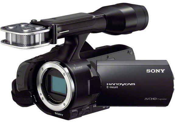 Sony NEX-VG30E.
