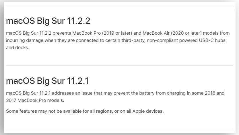 Både 11.2.2 og 11.2.1 handlet om strømrelaterte problemer.
