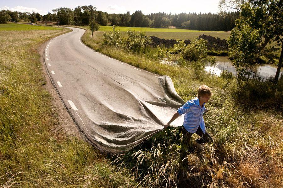 Go your own road.Foto: Erik Johansson
