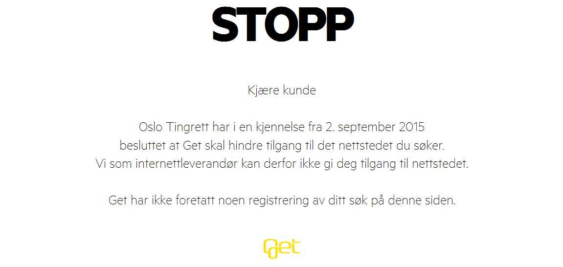 Meldinger som dette har også begynt å dukke opp hos norske nettbrukere.