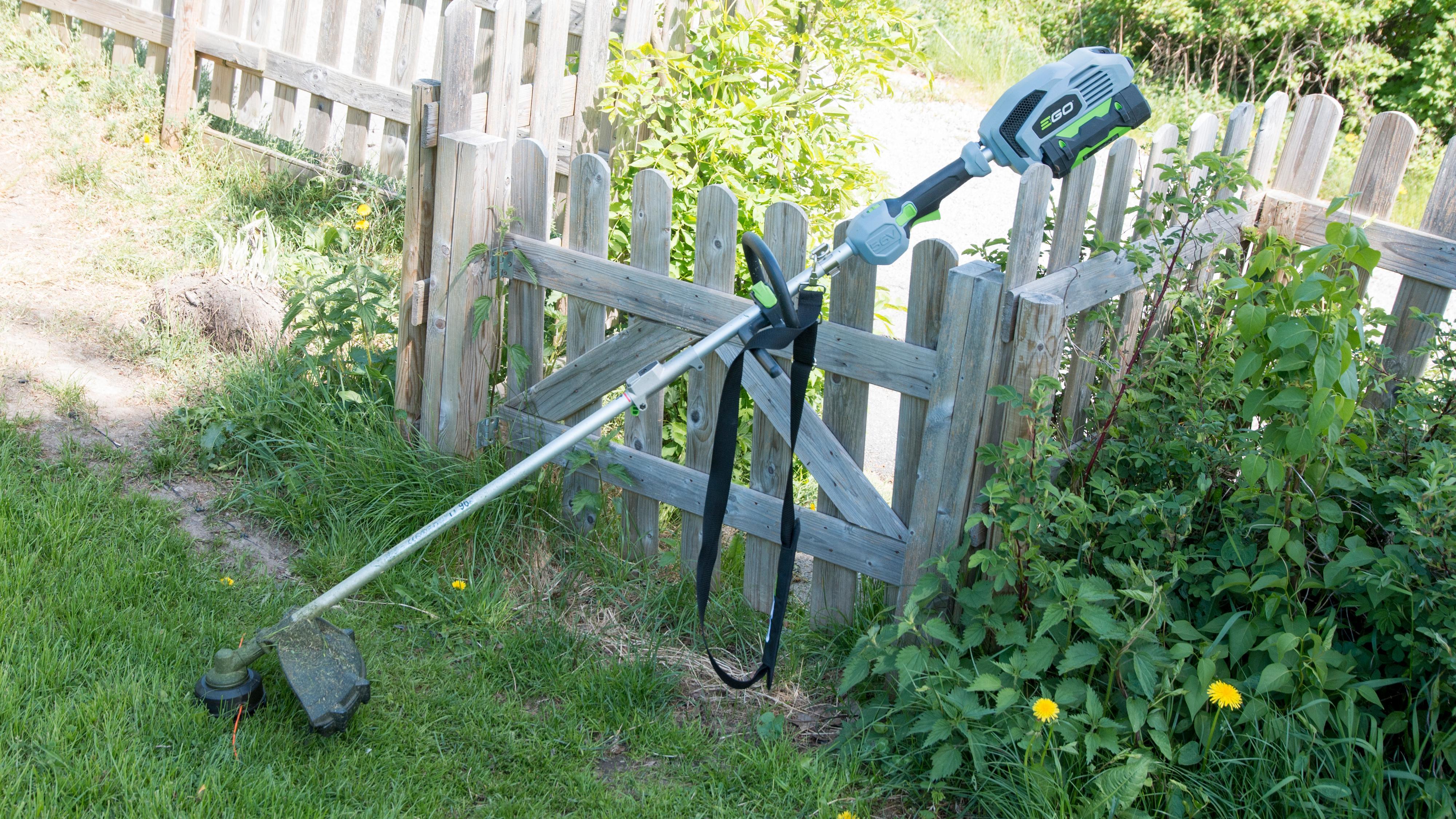 Denne gresstrimmeren fungerer meget godt, og har dessuten to gir, som er praktisk innimellom.