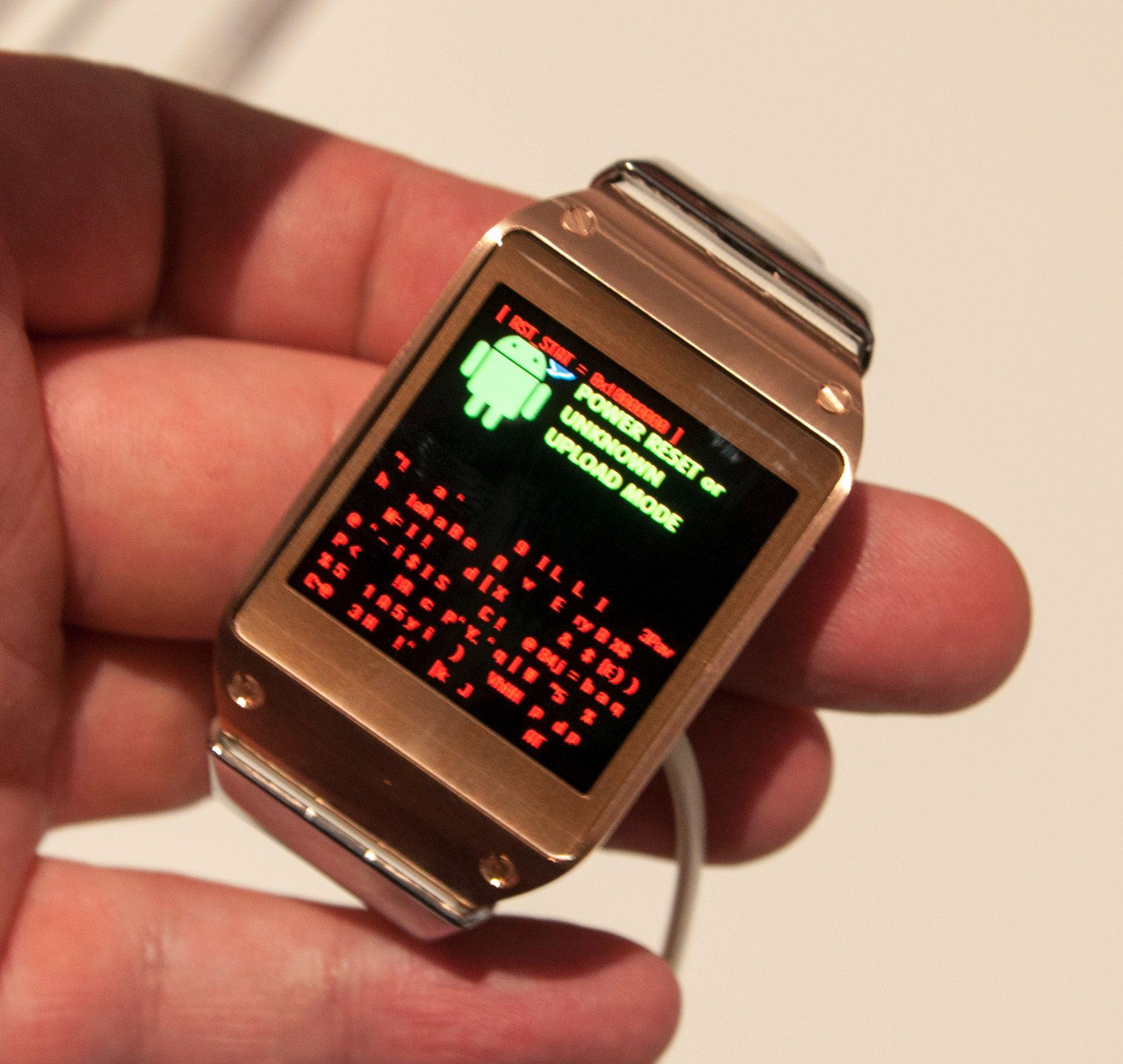 Men på lanseringskvelden kjørte Galaxy Gear tidlig programvare som ikke fungerte helt knirkefritt. Prisen er også forholdsvis høy.Foto: Finn Jarle Kvalheim, Amobil.no
