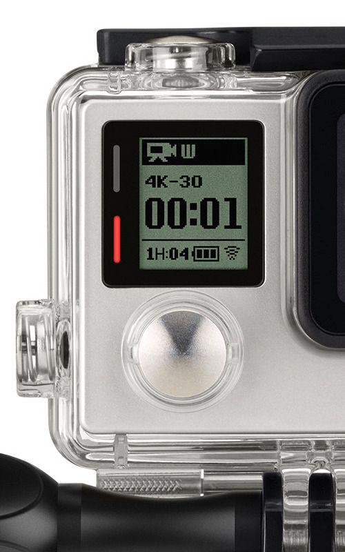 GoPro Hero4 Black kan filme i 4K 25/30p. (Foto: GoPro)
