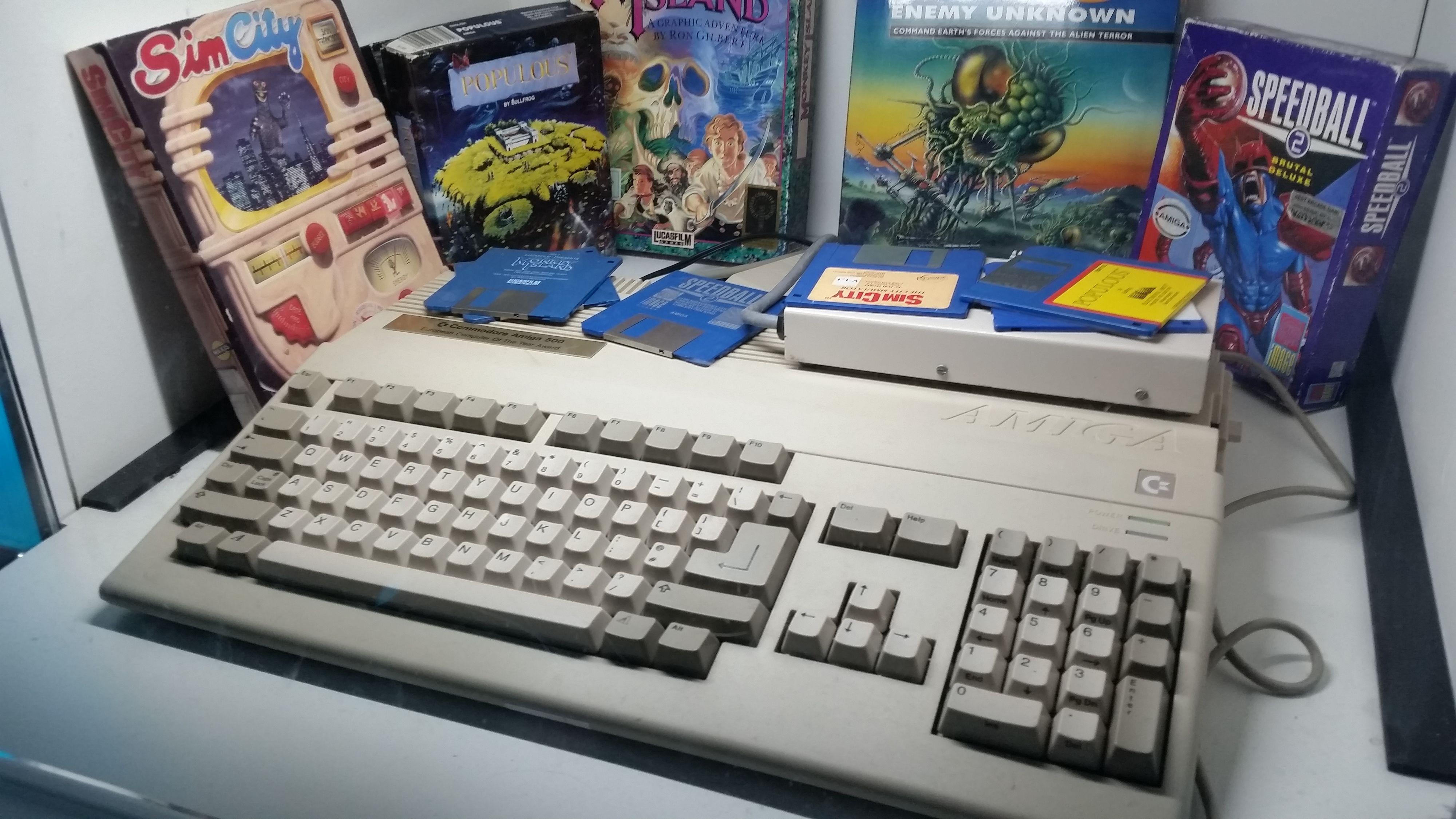Snart gjenoppstår «Amiga-system»