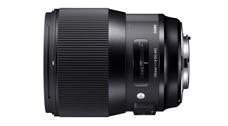 Sigma 135mm f/1.8.