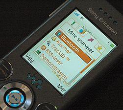 Bluetooth-funksjonen finnes ofte blant telefonens snarveier.