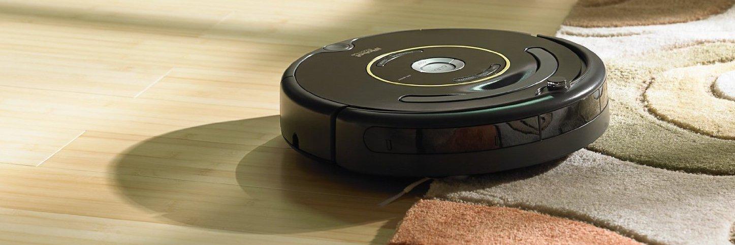 En støvsugende robot er ikke lenger noe uvanlig syn. Her en Roomba fra iRobot. Foto: iRobot
