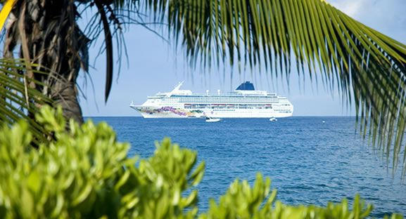 Mobildekning på cruisebåter