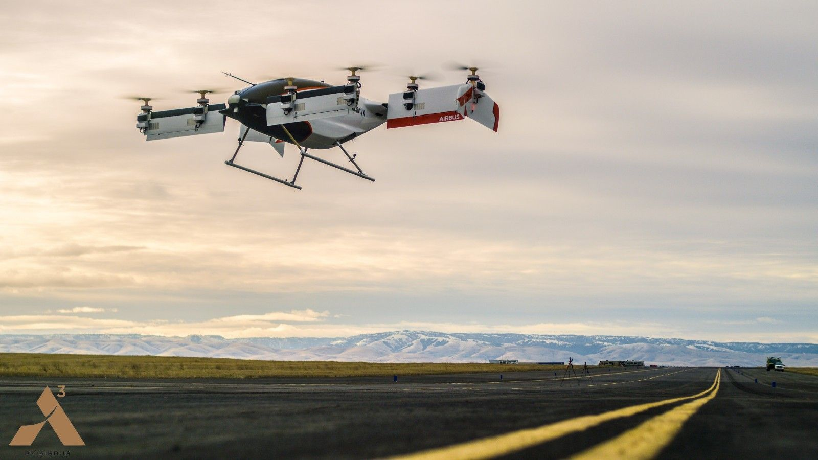 Her er verdens første flyvende taxi i aksjon