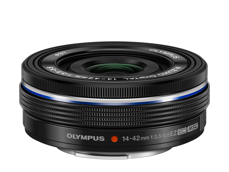 Olympus M.Zuiko Digital ED 14 - 42 mm f/3.5 - 5.6 EZ er ikke store karen.Foto: Olympus