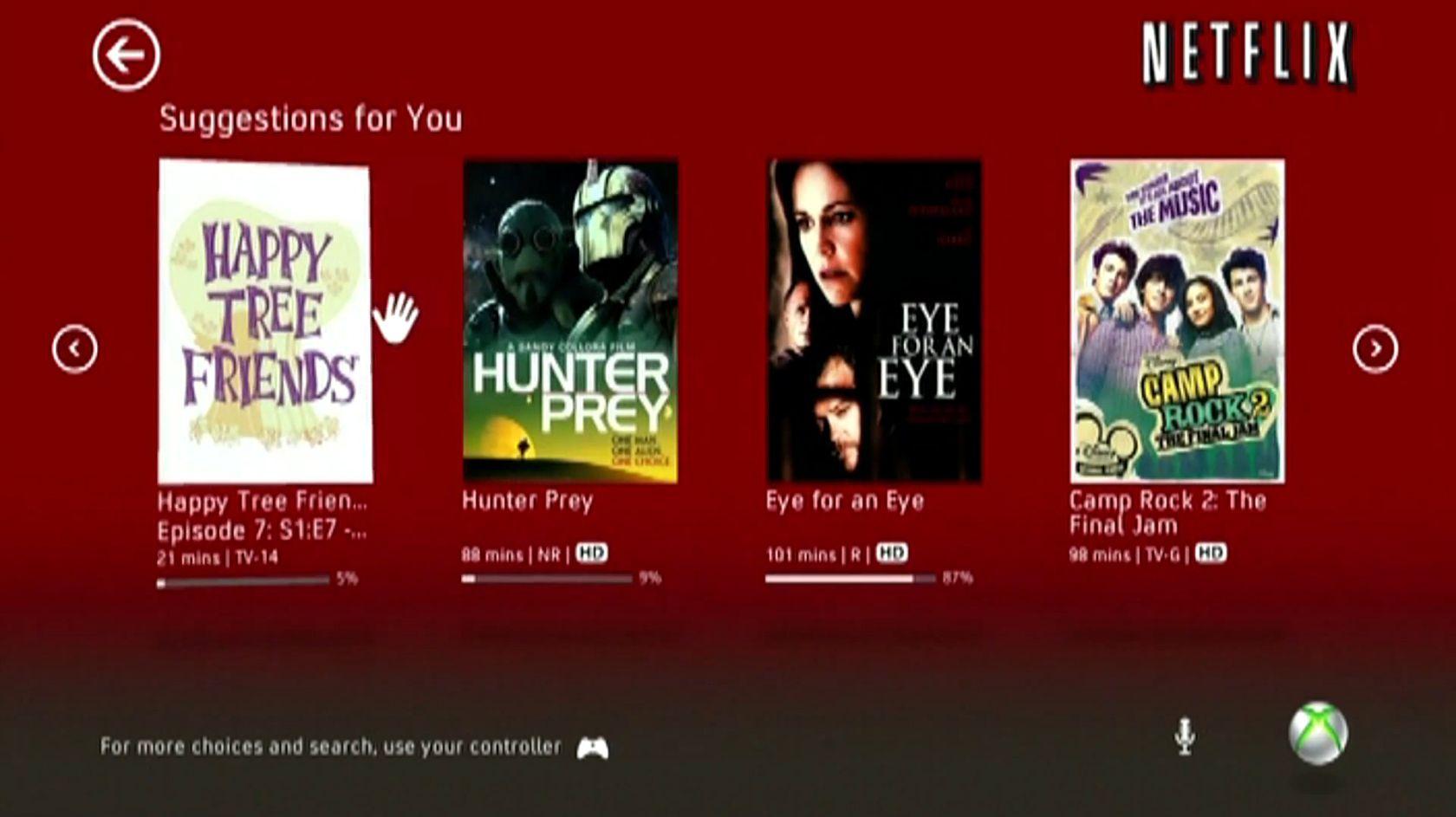 Netflix får Kinect-støtte