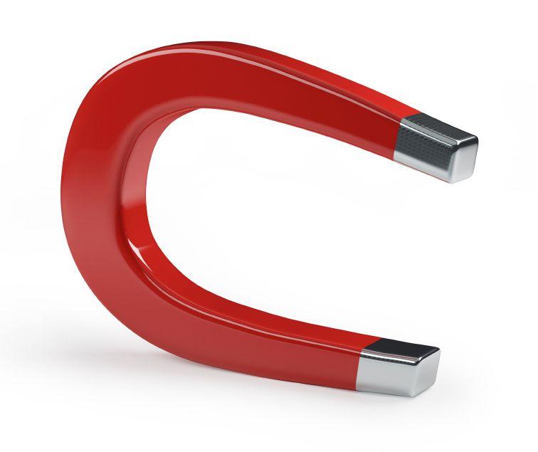 En klassisk magnet.Foto: Bilde 4240403, iStockphoto
