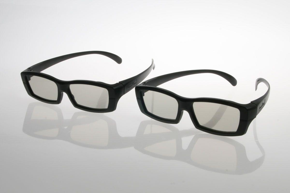 Passive 3D-briller fra LG.