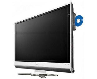 Sharp Aquos DX får innebygget Blu-ray