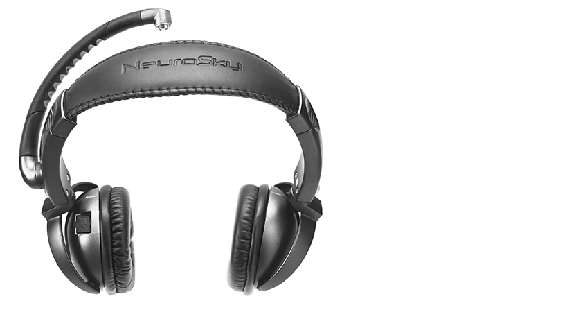 Med unntak av EEG-måleren er MindSet et ganske vanlig Bluetooth-hodesett.Foto: Neurosky