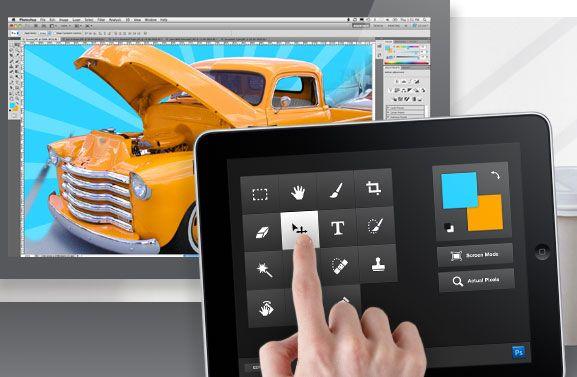 Snart kan du bruke iPaden din til å styre Photoshop.