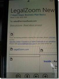 HTML-formatert e-post uten bilder. En sikkerhetsfunksjon, sier Microsoft.