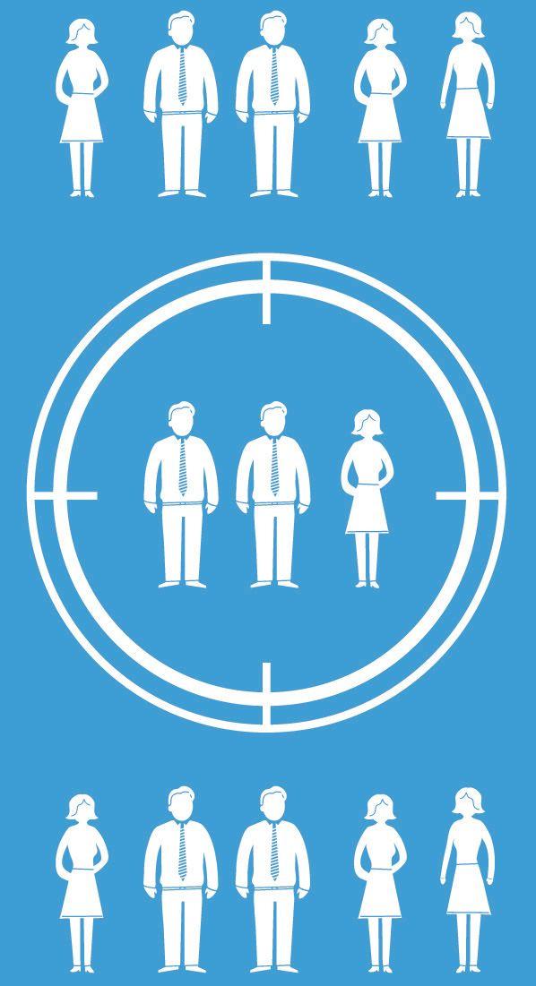 Remarketing handler om å treffe riktige personene (Bilde: Shutterstock).
