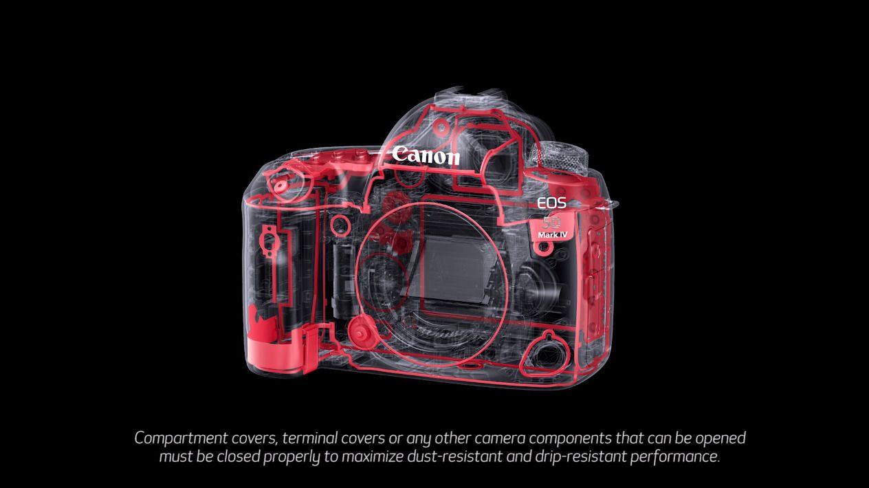 En forbedret konstruksjon har gjort at kamerakroppen er omtrent 60 gram lettere en forgjengeren, men med tanke på hvor tung fullformatsoptikk kan være blir det nok neppe en merkbar forskjell.